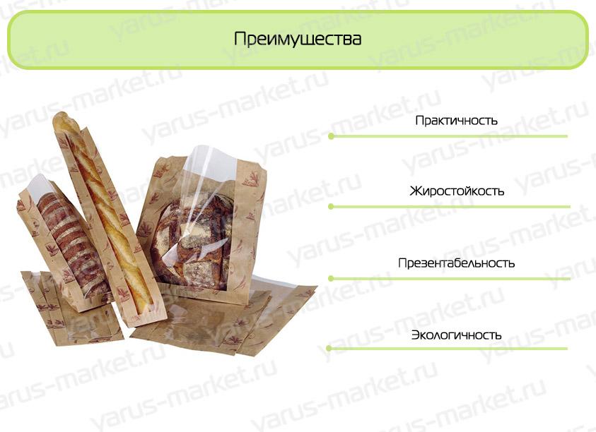 Инфографика для хлеба и выпечки