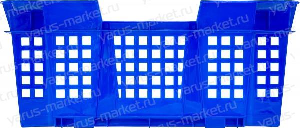 Пластиковый ящик, 400x300x126 мм., для грибов