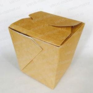 Упаковка крафт для еды