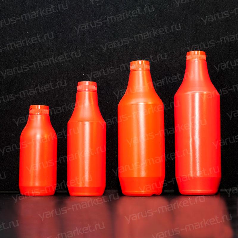 Пластиковая бутылка 0,35-0,9 л