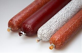 Фиброузная колбасная оболочка VISKOTEEPAK FLX