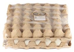 Бугорчатая прокладка для 30 яиц. С пленкой. Заказать на Ярус Маркет