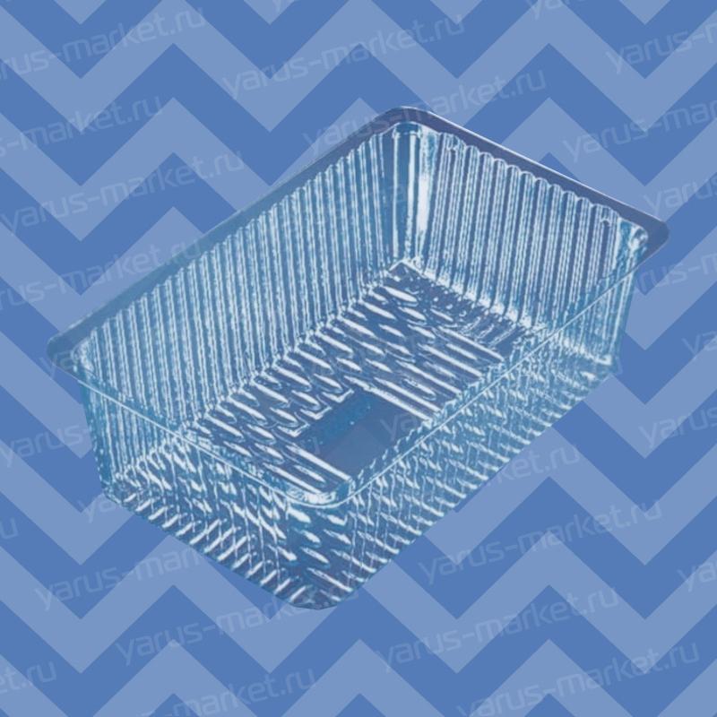 Коррекс ПР-КОР-С-19 из ПЭТ, для кондитерских изделий, 605x385x305 мм