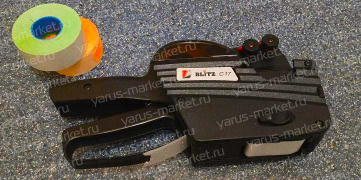 Этикет-пистолет BLITZ C17