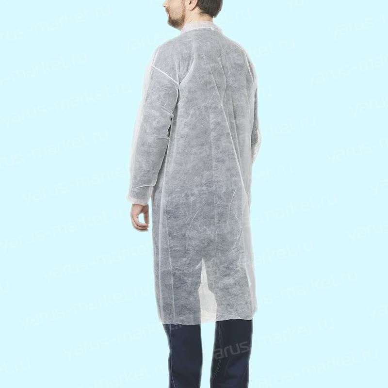 Одноразовые халаты из спанбонда