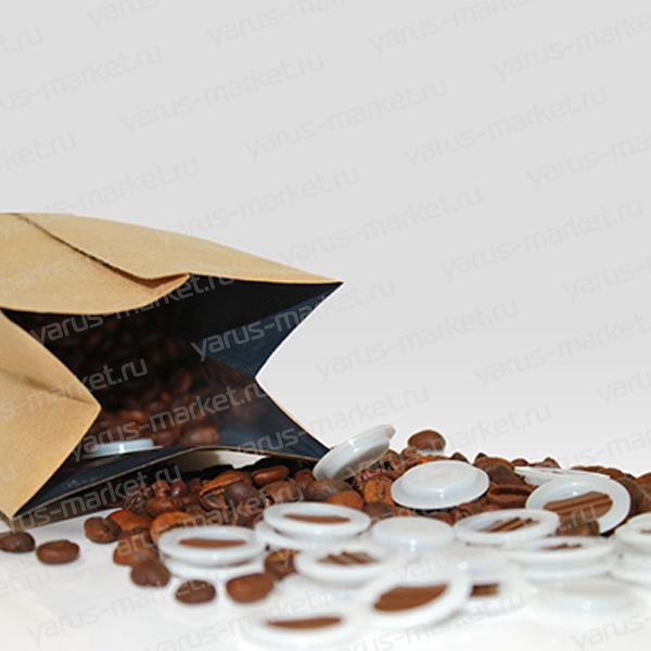 Дой-пак пакеты с клапаном дегазации для хранения обжаренных зерен кофе