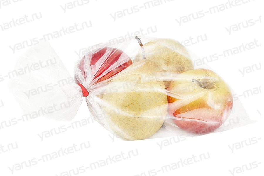 Пакет фасовочный, 25х40 см., 9 мкм., для фасовки овощей, фруктов