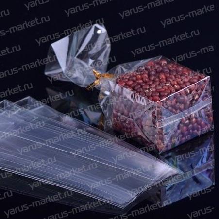 Пакет БОПП с прямоугольным дном, для фасовки орехов, сухофруктов, чая