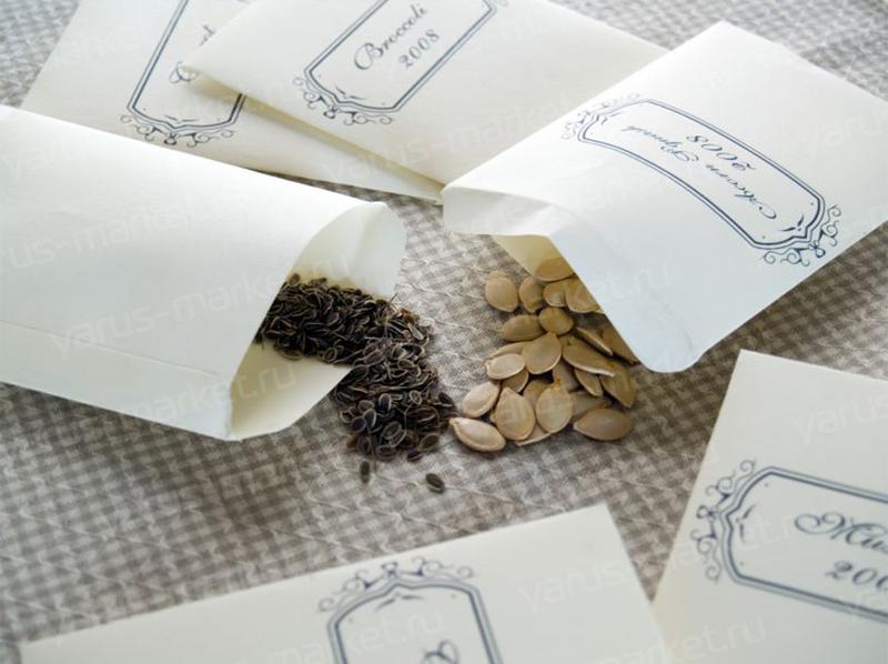Конверт для семян