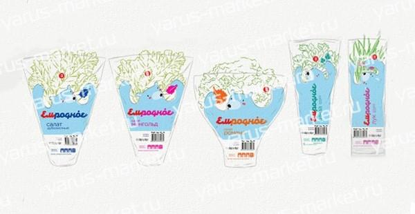 Упаковка для свежей зелени