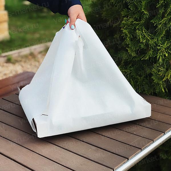 Полиэтиленовый пакет для коробки из под пиццы