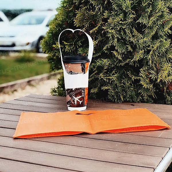 Пакет-переноска для стаканов