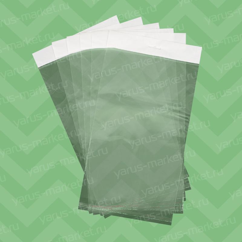 Пакет полипропиленовый для бижутерии с еврослотом