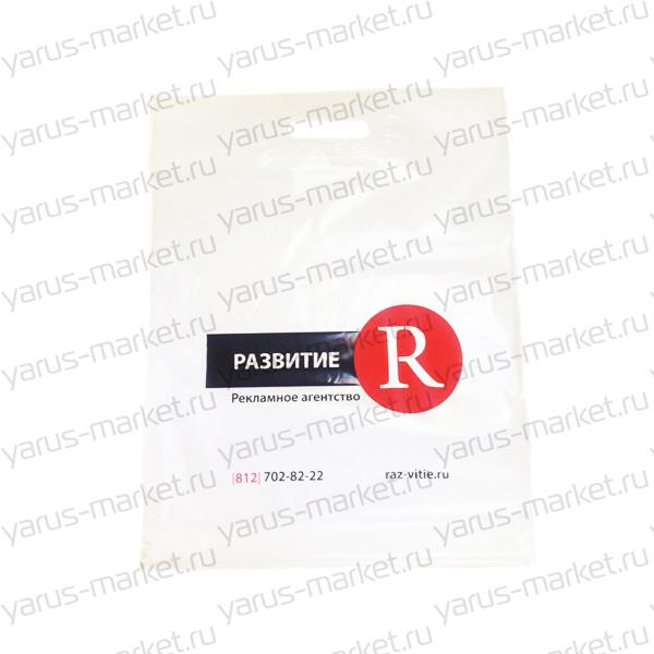 Пакет COEX белый с логотипом