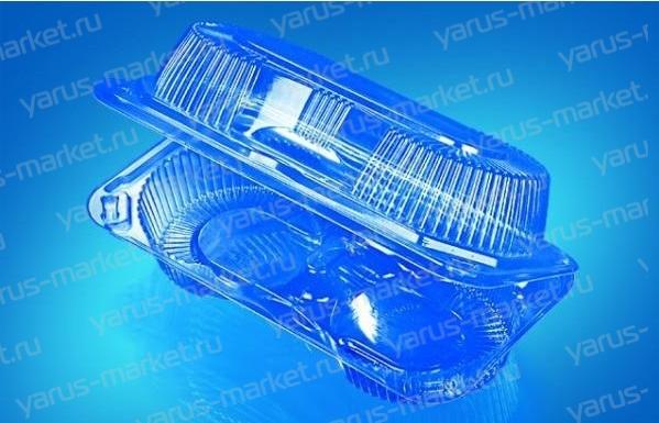 Пластиковая упаковка ИП-25/2 из ПЭТ/ОПС