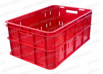 Пластиковый ящик, 600х400х260 мм., для колбасы