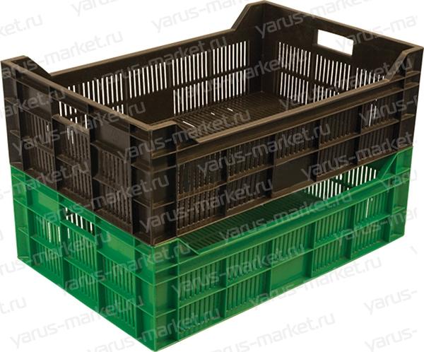 Складские лотки и ящики для хранения и перевозки продукции