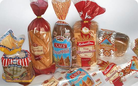 """Хлебобулочные изделия в гибкой упаковке. Купить гибкую упаковку для хлебобулочных изделий оптом в магазине """"ЯрусМаркет"""""""