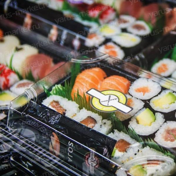 Крышка контейнера для суши, 19х16х4 см
