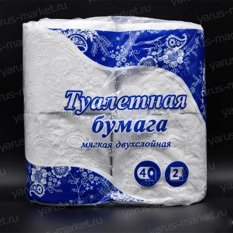 Упаковка для туалетной бумаги