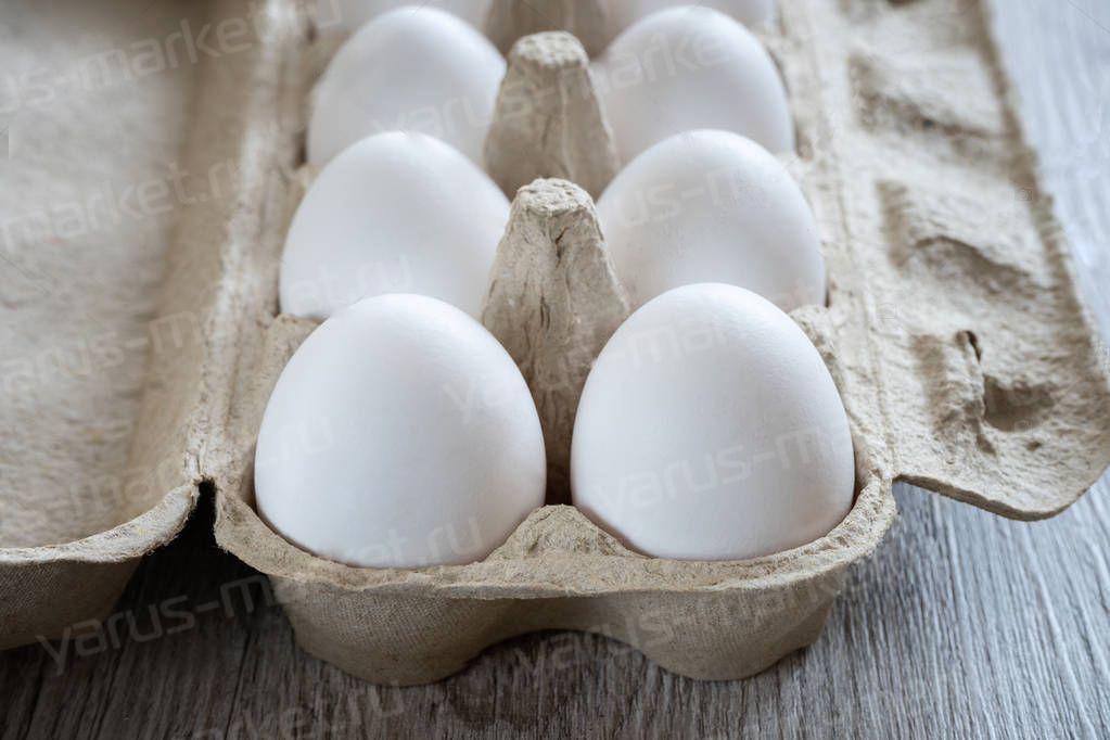 Контейнер для 10 яиц особо крупной категории СВ 262x110x73 мм (схема)