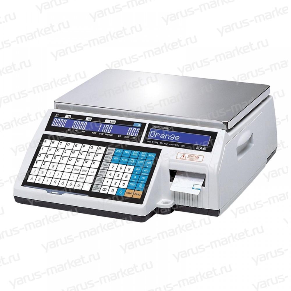 Электронные весы CAS CL-JI, торговые