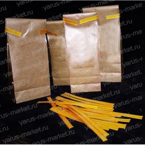 Фиксаторы пакетов для чая и кофе, 13 см