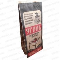 Крафт-пакеты для упаковки угля, с печатью