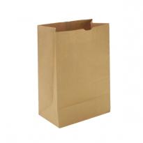 Крафт-пакет, 32х16х9.5, бурый, для фасовки и хранения хлебобулочных изделий