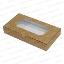 Картонная коробка 24*13*4 для кондитерских изделий