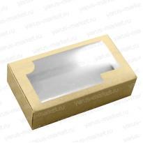 Картонная коробка 17,5*10*5 для кондитерских изделий