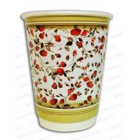Бумажный стакан «Вальс цветов»