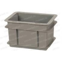Пластиковый износостойкий ящик, 200х150х120мм, для хранения флаконов