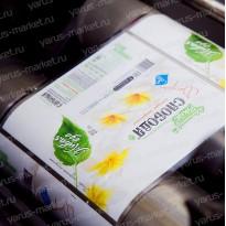 Печать на термоусадочных этикетках