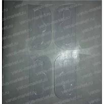 Самоклеющиеся вешалки, еврослоты 44*37 мм. (в листах)