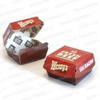 Коробка для бургера, 120х110х70 мм.