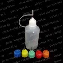 Флакон с иглой для жидкости электронных сигарет, 10 мл., 30 мл.