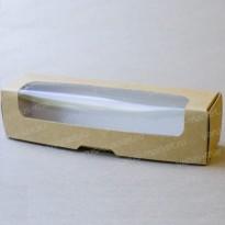 Картонная упаковка для макарони, с окном
