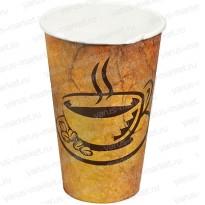 Стакан бумажный, однослойный, для кофе, 250мл., 330мл., 500мл.