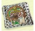Бугорчатая прокладка для 56 перепелиных яиц, картонная, 310х310мм