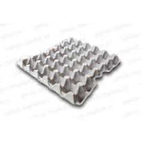 Бугорчатая прокладка для 30 куриных яиц картонная, 295х295 мм.