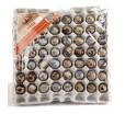 Бугорчатая прокладка для 56 перепелиных яиц картонная 310х310мм — упаковка яичная