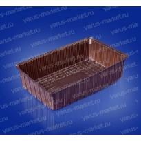 Коррекс ИП-181 из ПЭТ, черный, для упаковки печенья, конфет