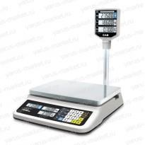 Электронные весы CAS PR LCD–06, торговые
