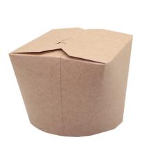 Коробка для лапши WOK, 500мл., из крафт-картона
