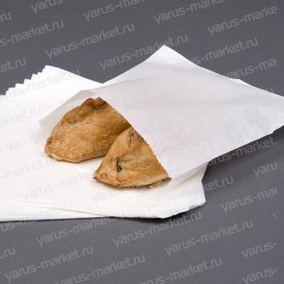 Пакет бумажный для хлеба, белый