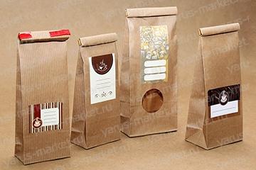 """Пакеты для чая и кофе. Купить пакеты под чай и кофе в магазие """"ЯрусМаркет"""""""