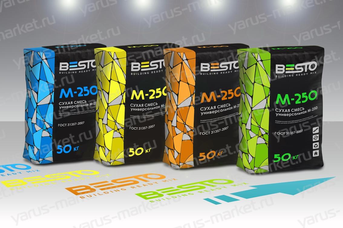 Купить гибкую упаковку для строительных материалов с печатью на сайте yarus–market.ru